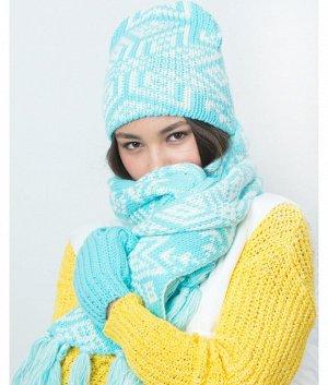 XM 1 XS 1 флис (колпак+шарф) Комплект