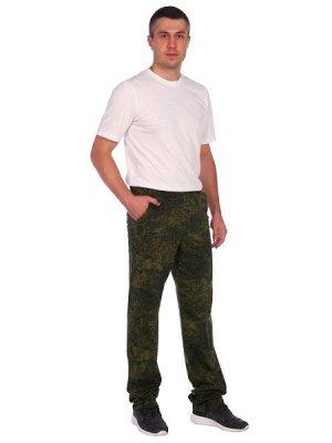 Брюки Военно-полевые, камуфлированные брюки на резинке, из плотного качественного трикотажного кулирного полотна со стопроцентным содержанием хлопка. Изделие дополнены эластичным поясом и двумя внутре