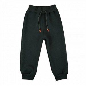 Спортивные штаны 396/4 (черные) 3-нитка