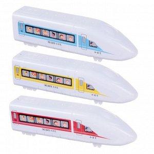 Фломастеры 12 цветов в пластиковом тубусе Поезд вентилируемый колпачок