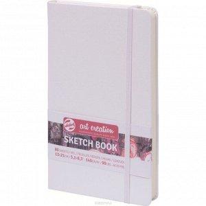 Блокнот для рисунков А5, 140 г/м?, Royal Talens, 130 х 210, 80 листов, твёрдая обложка, белый