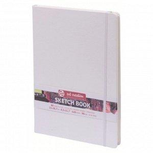 Блокнот для рисунков А4, 80 листов Royal Talens, 140 г/м?, твёрдая обложка, белый