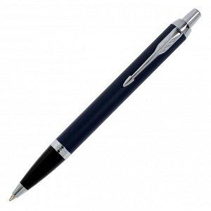 Ручка шариковая Parker IM Core Matte Blue CT M, корпус синий матовый/ хром, синие чернила (1931668)