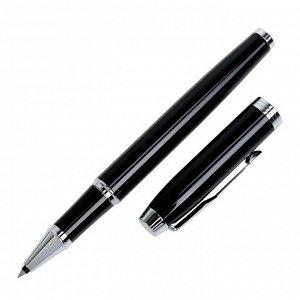 Ручка роллер Parker IM Core Black CT F, корпус чёрный глянцевый/ хром, чёрные чернила (1931658)