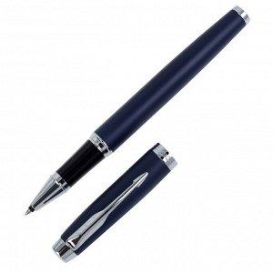 Ручка роллер Parker IM Core Matte Blue CT F, корпус синий матовый/ хром, чёрные чернила (1931661)