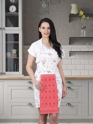 Фартук кухонный  с салфеткой 30x50