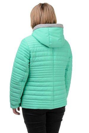 Куртка демисезонная «Дора», р-ры 48-54, №241 мята