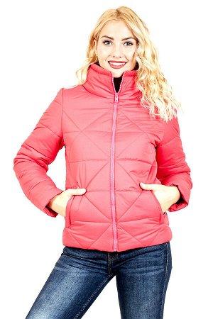 Куртка Ромб розовый