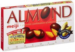 MEIJI Almond Chocolate - миндаль в молочном шоколаде
