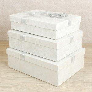 Набор коробок 3 в 1, 29 х 21,5 х 9,5 - 26 х 18,5 х 6,5 см
