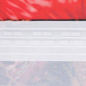 """Комплект штор """"Этель"""" Еловые ветви 145*260 см-2 шт. 100% п/э. 140 г/м2"""