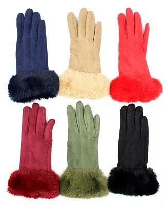 Уютная одежда: колготки до 600ден, носки, перчатки для всех  — Перчатки женские — Вязаные перчатки