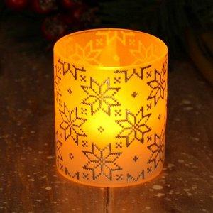 Электронная свеча «Свитер», 5 х 5,7 см