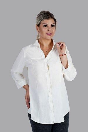 Блузка цвета Айвори (бледно-желтый)