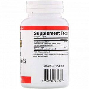 Natural Factors, Цитрусовые биофлавоноиды с гесперидином, 650 мг, 90 капсул