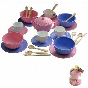 Набор посуды Сервиз Дружная семейка С-181-Ф