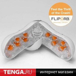 Flip orb orange crash