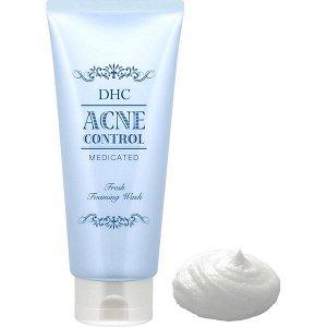 DHC Medicated Acne Control. Очищающая пенка для лица против акне, 130гр