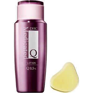 DHC Medicated Lotion Q 0.3%. 160ml Лечебный омолаживающий лосьон для лица с коэнзимом Q 0.3%