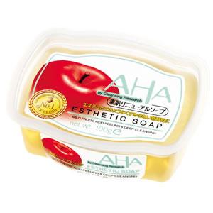 AHA BCL Esthetic Soap Мыло с эффектом пилинга, для чувствительной кожи