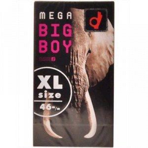 Презервативы Mega Big Boy размер XL (12шт в упаковке)