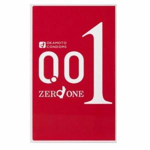 Okamoto 0.01mm размер S Ультратонкие презервативы (3шт в упаковке)