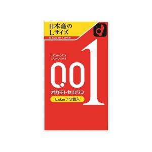 Okamoto 0.01mm Размер L Ультратонкие презервативы (3шт в упаковке)