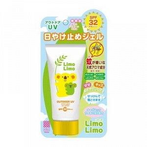 Meishyoku Limo Limo Outdoor UV SPF 32 PA +++/ Солнцезащитный гель для детей и взрослых 50г