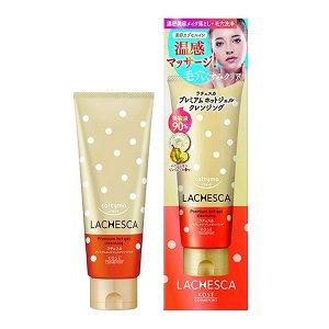 Kose Cosmeport Softimo Lachesca Premium hot gel cleansing. Согревающий гель для глубокого очищения кожи. 200г