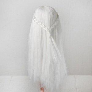 Волосы для кукол «Прямые с косичками» размер маленький, цвет 60
