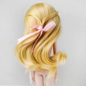 Волосы для кукол «Волнистые с хвостиком» размер маленький, цвет 613
