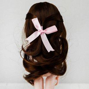 Волосы для кукол «Волнистые с хвостиком» размер маленький, цвет 9