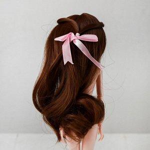 Волосы для кукол «Волнистые с хвостиком» размер маленький, цвет 12В