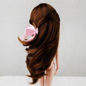 Волосы для кукол «Волнистые с хвостиком» размер маленький, цвет 6