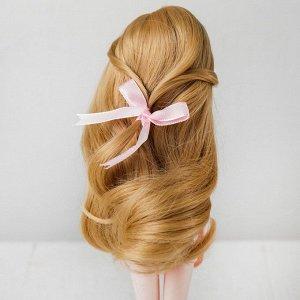 Волосы для кукол «Волнистые с хвостиком» размер маленький, цвет 15