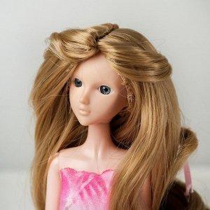 Волосы для кукол «Волнистые с хвостиком» размер маленький, цвет 16