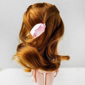 Волосы для кукол «Волнистые с хвостиком» размер маленький, цвет 16А