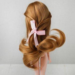 Волосы для кукол «Волнистые с хвостиком» размер маленький, цвет 18