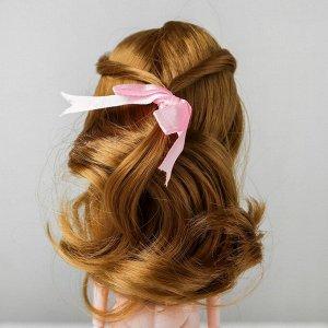 Волосы для кукол «Волнистые с хвостиком» размер маленький, цвет 22
