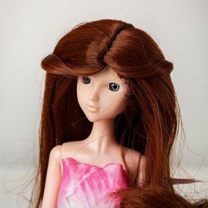 Волосы для кукол «Волнистые с хвостиком» размер маленький, цвет 30Y