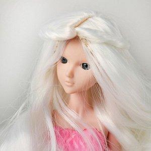 Волосы для кукол «Волнистые с хвостиком» размер маленький, цвет 60