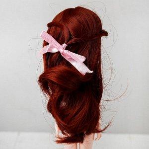 Волосы для кукол «Волнистые с хвостиком» размер маленький, цвет 350