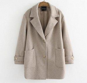 Пальто хаки