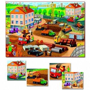 Рассказы по картинам. Важные профессии (Игра настольная) С-956
