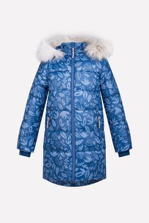 Пальто зимнее для девочки Crockid ВК 38043/н/1 ГР