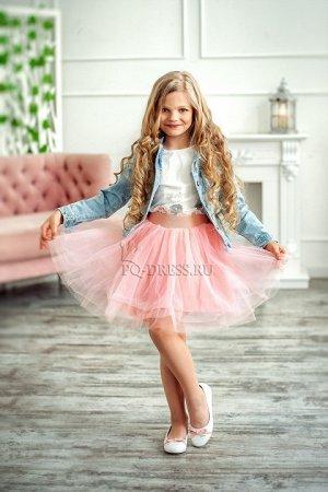 Юбка Детская пышная фатиновая юбка с хлопковой подкладкой и широким эластичным поясом. *** Взрослые размеры:http://pq-dress.ru/product_info.php?products_id=2667 ***Замеры юбки:р.24 длина 32смр.26 длин