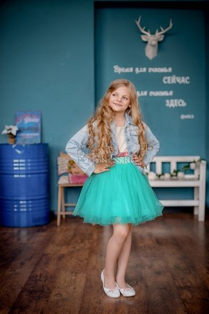 Юбка Детская пышная фатиновая юбка с хлопковой подкладкой и широким эластичным поясом. *** Взрослые размеры:http://pq-dress.ru/product_info.php?products_id=2668 *** Замеры юбки:р.24 длина 32смр.26 дли