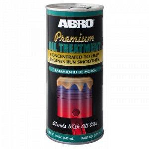 Присадка в масло ABRO Премиум концентрат, бут.443мл