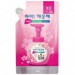 """LION Пенное мыло для рук """"Ai - Kekute"""" Цветочный букет, с антибактериальным эффектом, запасной блок, 200мл"""