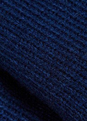 Манишка для мальчика синий цвет